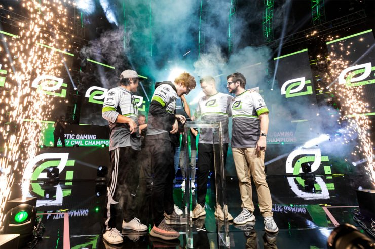 Optic Gaming Call Of Duty World Champions 2017