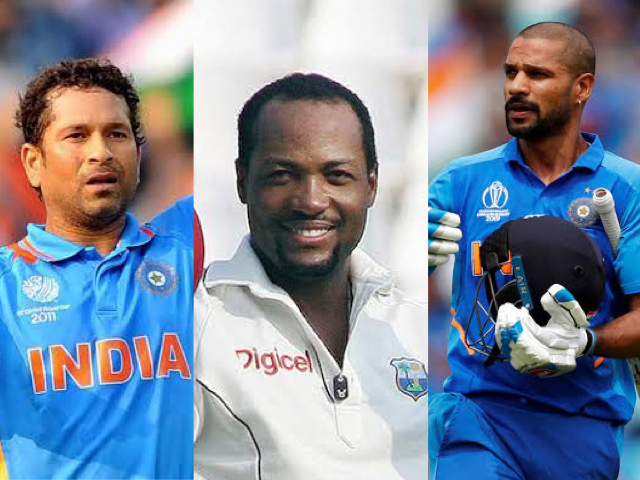 Tendulkar and Dhawan wish Brian Lara