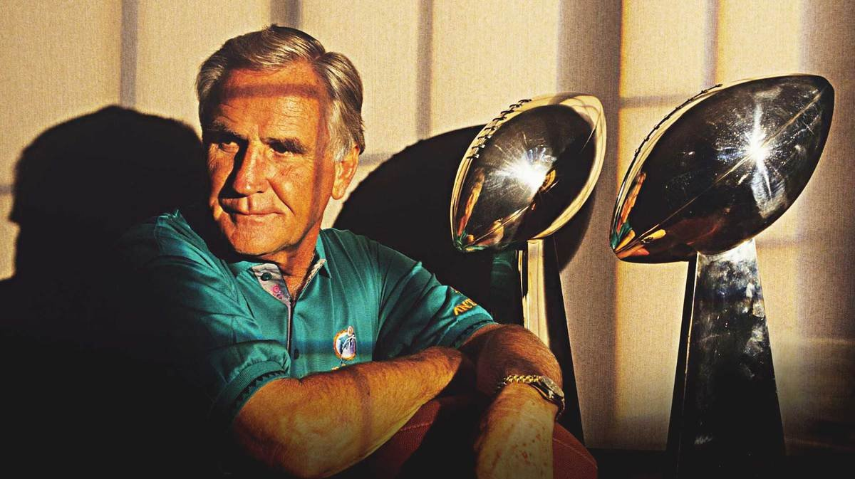 NFL Icon and Former Miami Dolphins Coach Don Shula Passes Away ...