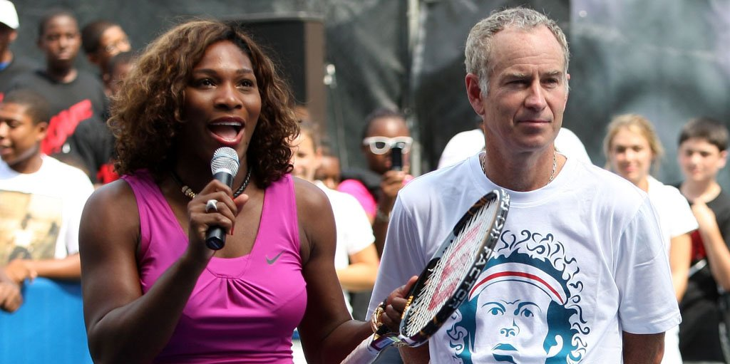 When Serena Williams Blasted John McEnroe For Sexist Remark thumbnail