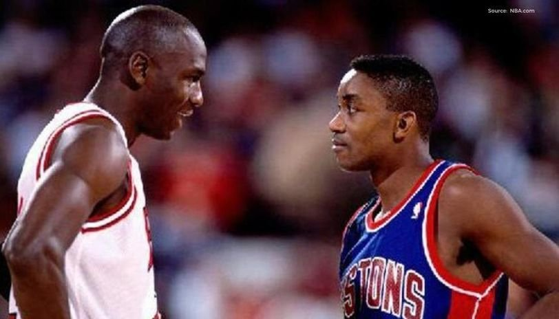 My Son Was Wearing Michael Jordan Jerseys And Shoes Isiah Thomas Shares How Taken Aback He Was At Hate Comments Essentiallysports