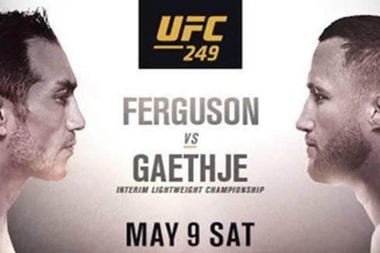 UFC 249: Justin Gaethje vs Tony Ferguson