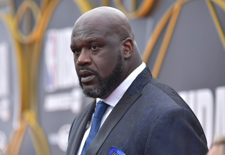 Former Los Angeles Lakers Shaquille O'Neal