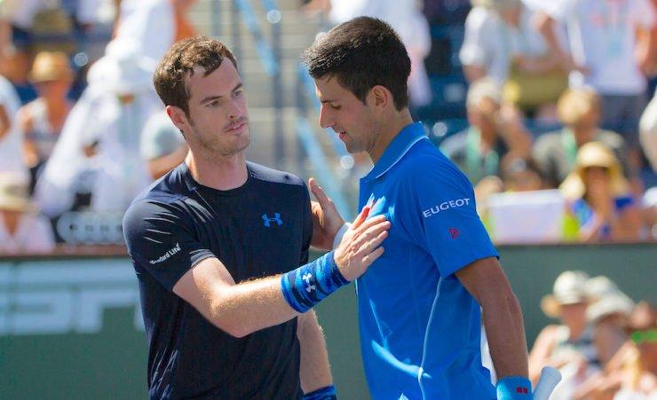 Andy Murry Novak Djokovic