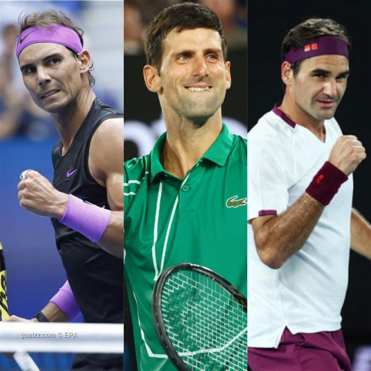 Watch Novak Djokovic Makes Interesting Choice Between Roger Federer And Rafael Nadal Essentiallysports