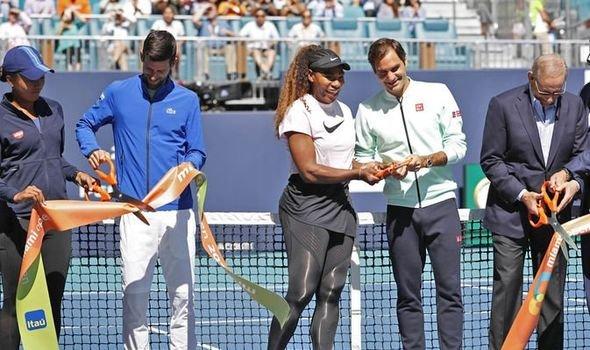 Roger Federer Novak Djokovic Serena Williams