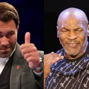 Mike Tyson and Eddie Hearn