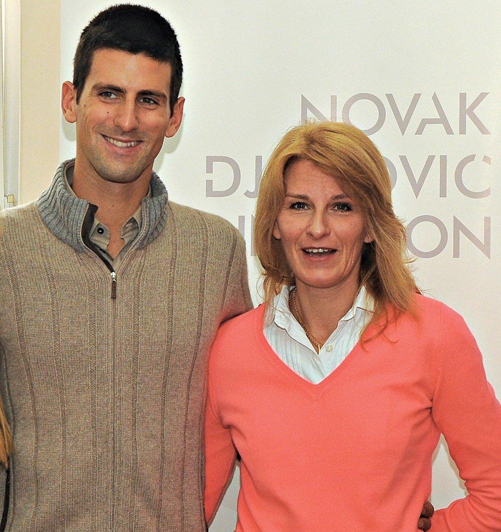Novak Djokovic mother