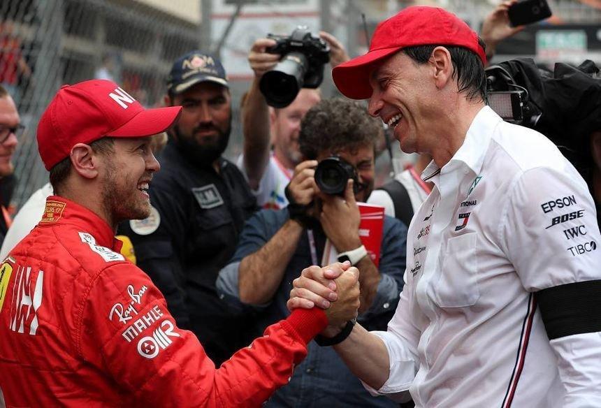 Mercedes' Wolff and Daimler Squabbling Over Sebastian Vettel ...