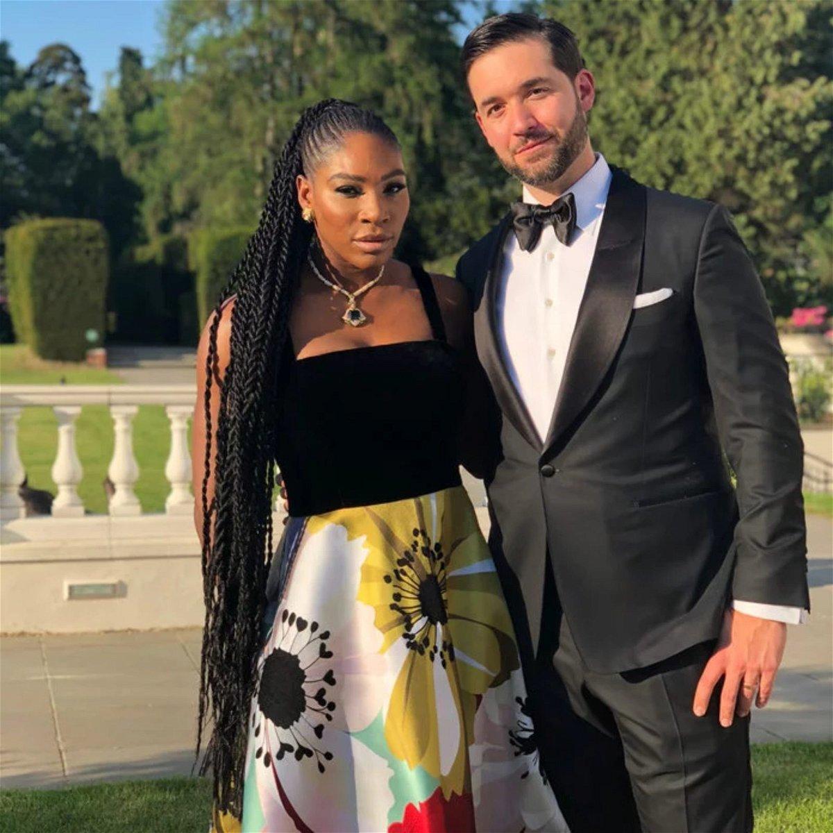 Serena Williams Husband Turns Coronavirus Challenge Into