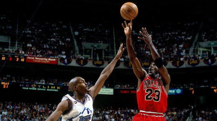 98 NBA Finals Against Chicago Bulls
