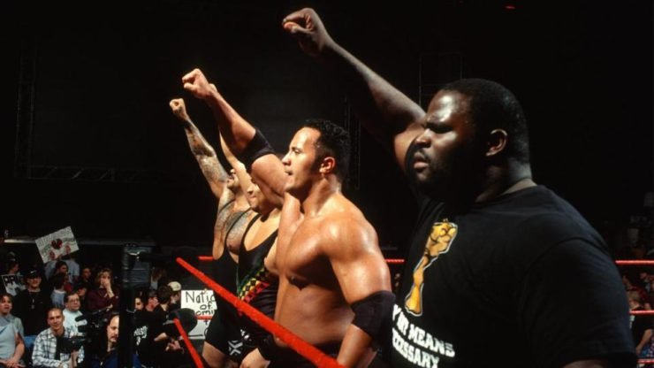 Mark Henry and Rock