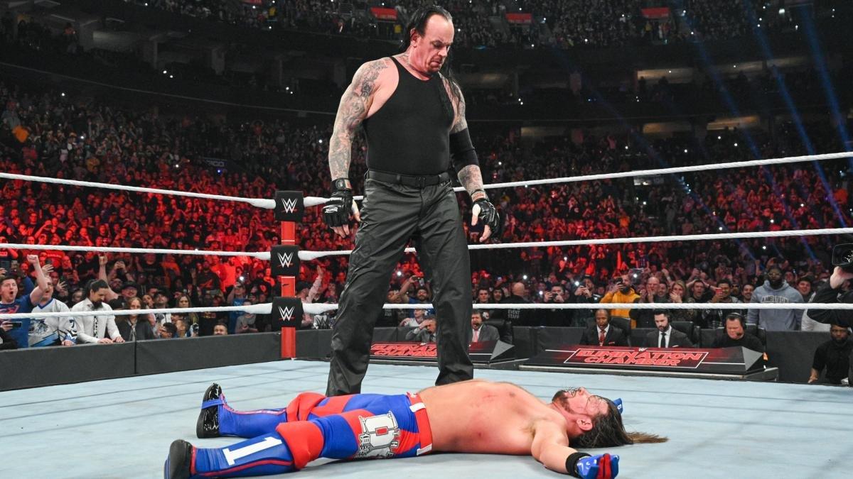 AJ Styles Still Wants To Wrestle The Undertaker In Front Of WWE Fans 127