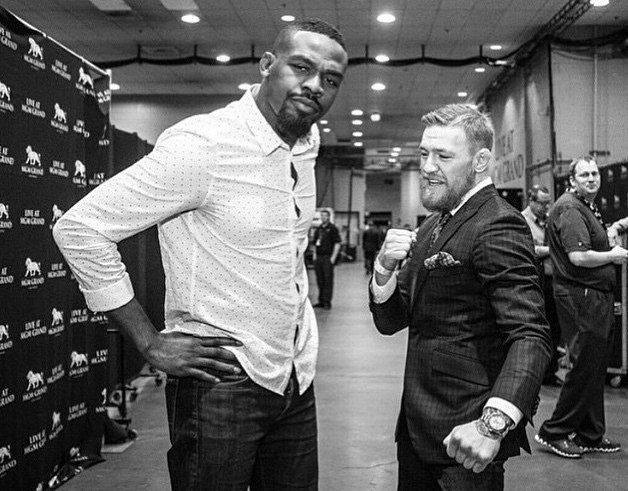 Conor McGregor and Jon Jones