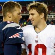 Tom Brady, Eli Manning