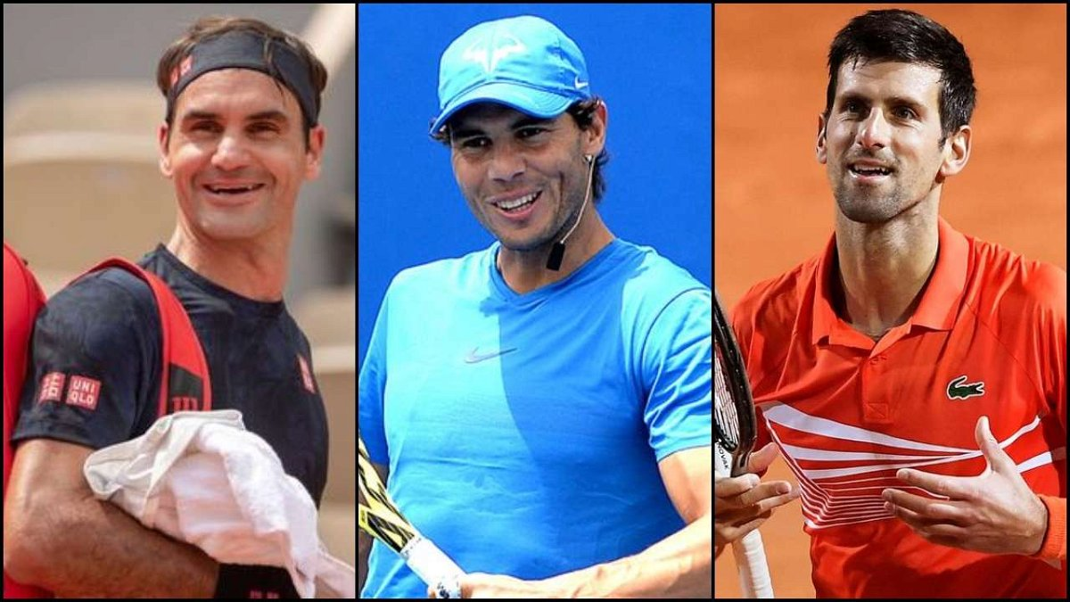 Rafael Nadal Roger Federer And I Have Communicated More Than Usual Novak Djokovic Essentiallysports
