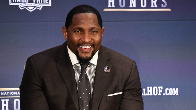 Ray Lewis gives advice to Lamar Jackson