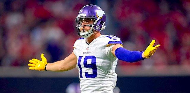 Adam Thielen of Minnesota Vikings