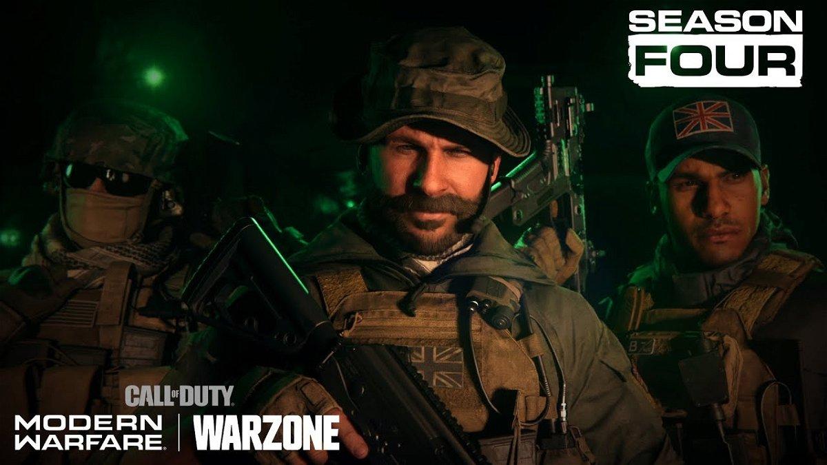 Call Of Duty Modern Warfare Trailer Reveals Season 4 Date And