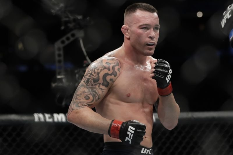 You Are Next Colby Covington Furiously Calls Out Jorge Masvidal After Destroying Tyron Woodley Essentiallysports