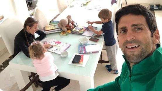 Inside Novak Djokovic S Luxurious House With Tennis Court Where He And His Family Were Quarantined Essentiallysports