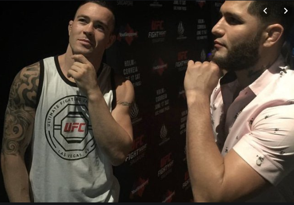 Colby Covington and Jorge Masvidal