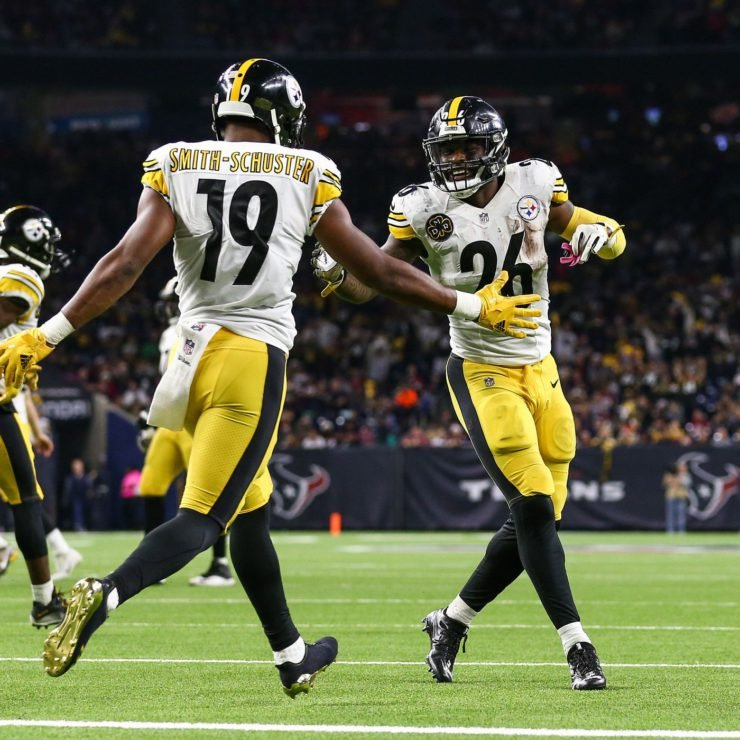 The Pittsburgh Steelers duo