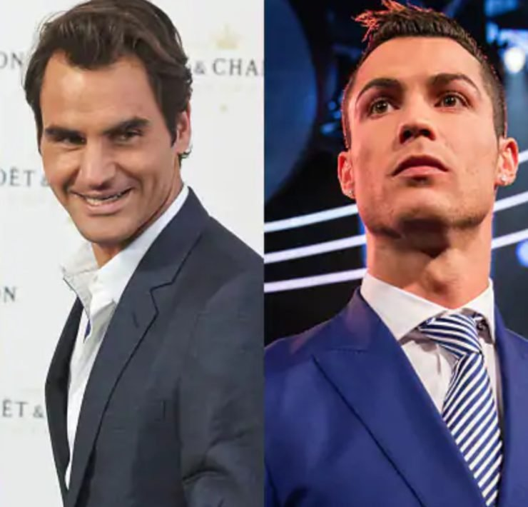 Roger Federer Beats Cristiano Ronaldo To Become The Highest Paid Athlete In The World