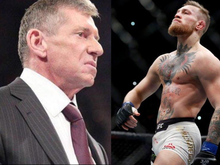 Conor McGregor vs Vince McMahon