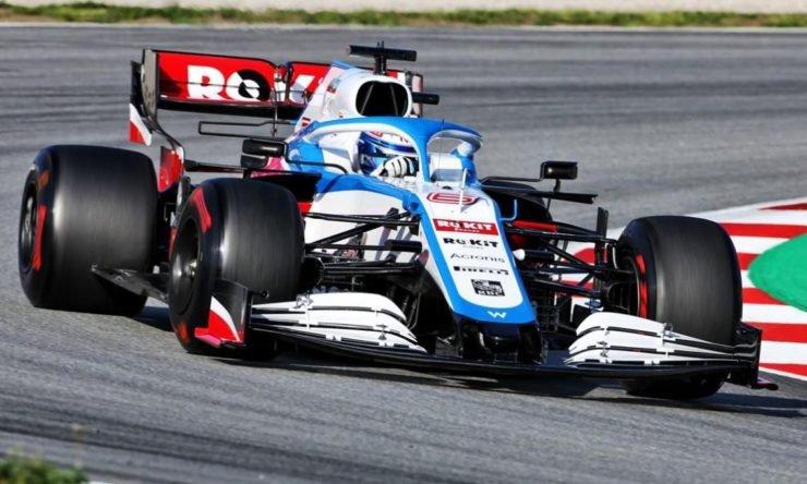 Williams F1 2020 car