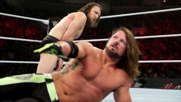 WWE aj styles daniel bryan