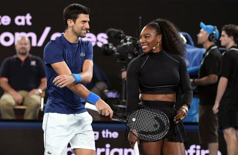 Watch When Novak Djokovic Played A Light Hearted Match With Serena Williams Essentiallysports