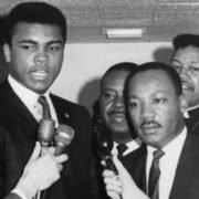 Muhammad Ali Dr Martin Luther King Jr.