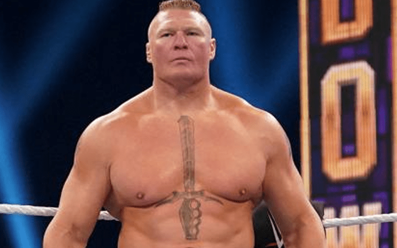 Photo: Brock Lesnar Spotted Sporting New Look After WWE Exit 2