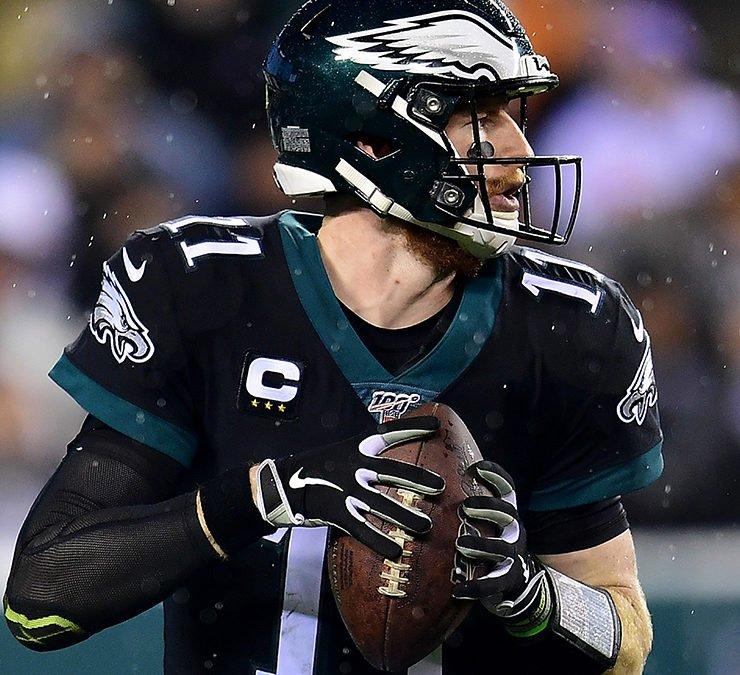 Philadelphia Eagles Quarterback Carson Wentz Is Promoted To Daddy