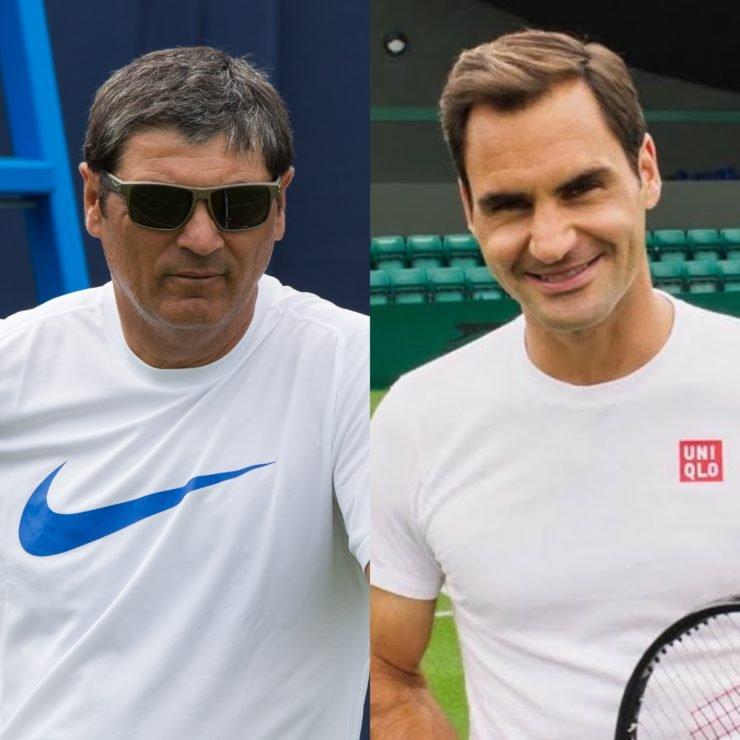 Roger Federer Toni Nadal