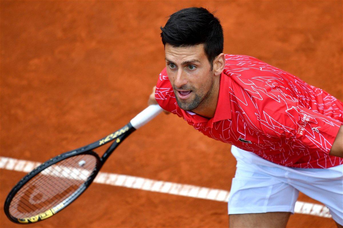 Novak Djokovic Undergoes Another Test For Corona Virus Essentiallysports