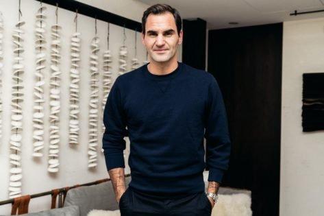 Roger Federer Attends Billionaire Bernand Arnault Son's Wedding in Italy