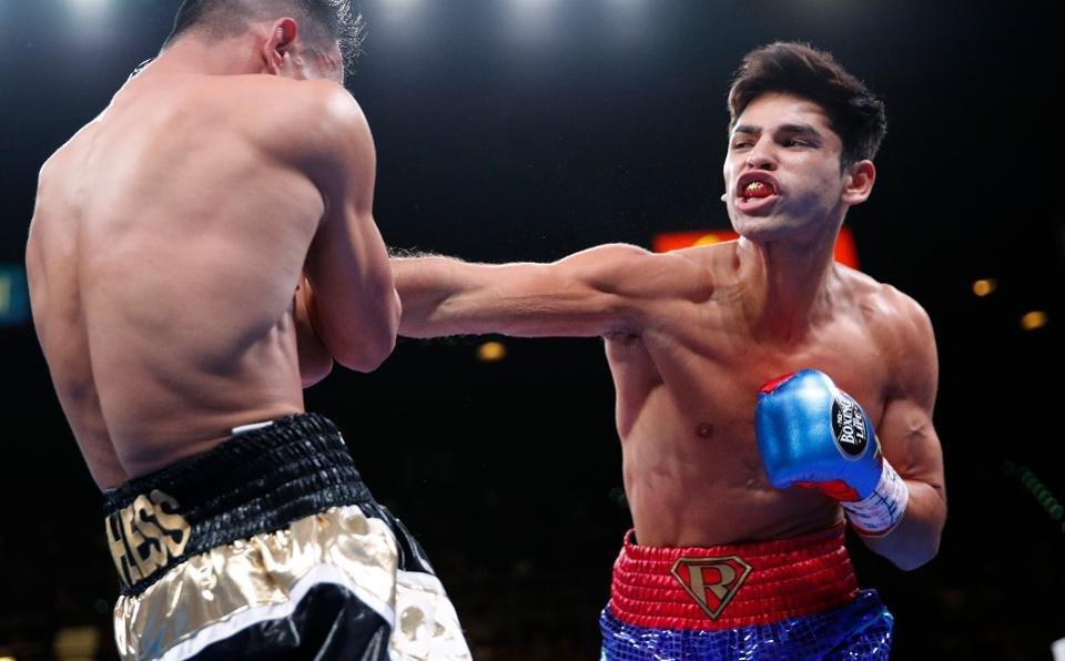 Video Ryan Garcia Unleashes Body Shots In Preparation For Luke Campbell Fight Essentiallysports