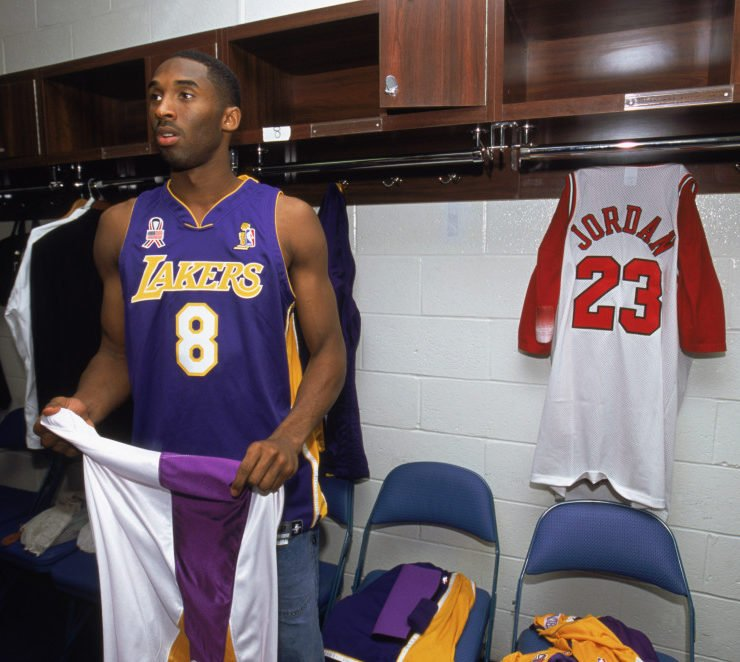 When Kobe Bryant Sent Fans Into A Frenzy By Sporting A Michael ...