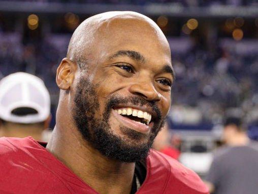 Washington Redskins RB, Adrian Peterson