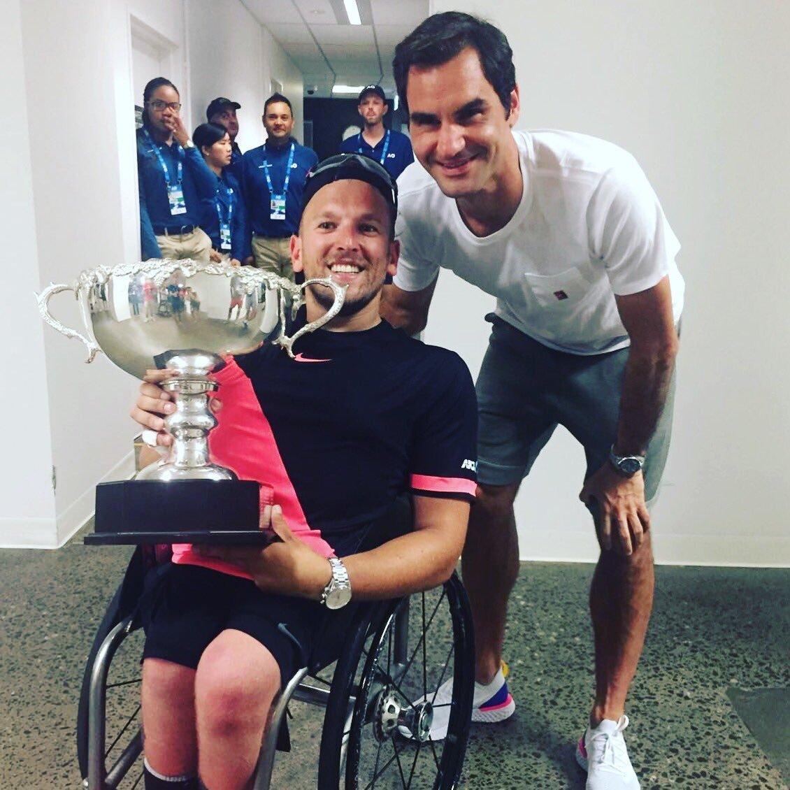 Roger Federer, Dylan Alcott