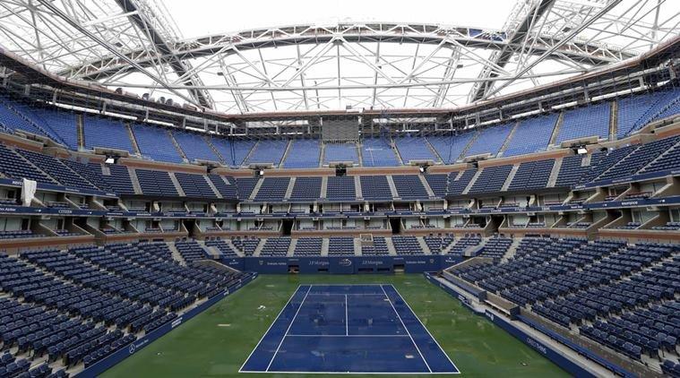 us open tennis happening