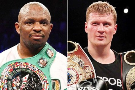 Boxing Schedule 2021: Matchroom Announces Mega Fights Including Alexander Povetkin vs Dillian Whyte two thumbnail