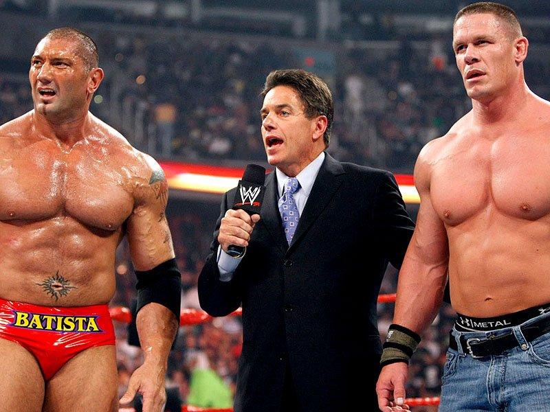 WWE Legend Batista Denies Shooting Buddy Movie With John Cena 1