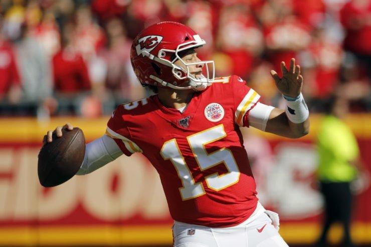Kansas City Chiefs quarterback, Patrick Mahomes