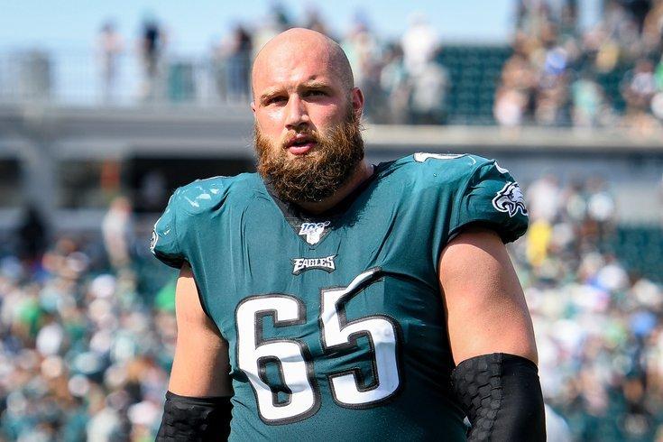 Philadelphia Eagles offensive tackle, Lane Johnson