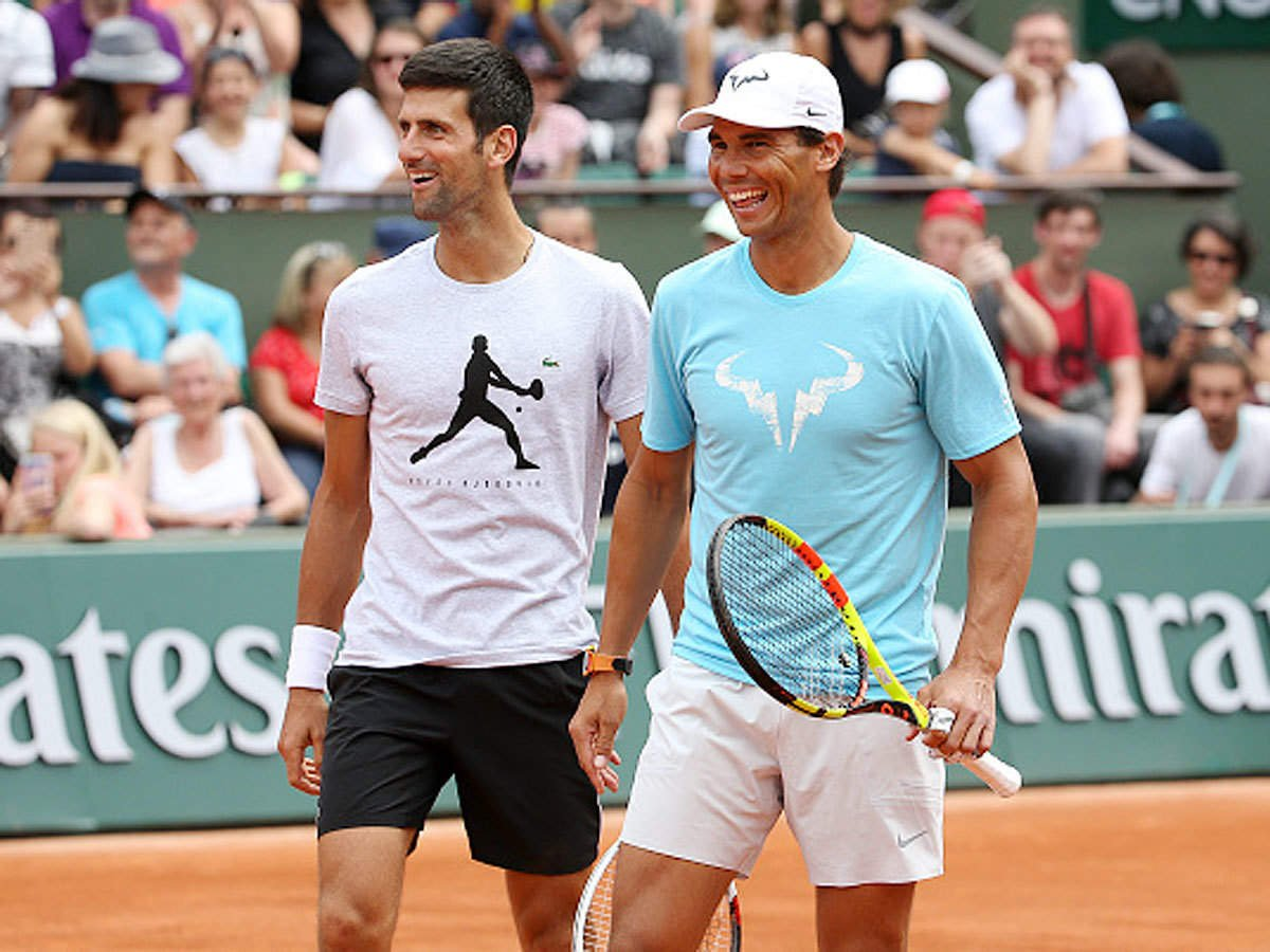 Novak Djokovic and Rafael Nadal Won't Give 'a Free Grand Slam' to Each  Other, Says Former World No.11 - EssentiallySports