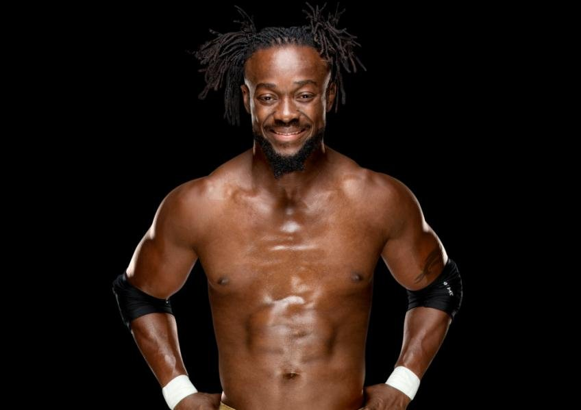 The 38-year old son of father (?) and mother(?) Kofi Kingston in 2020 photo. Kofi Kingston earned a million dollar salary - leaving the net worth at million in 2020
