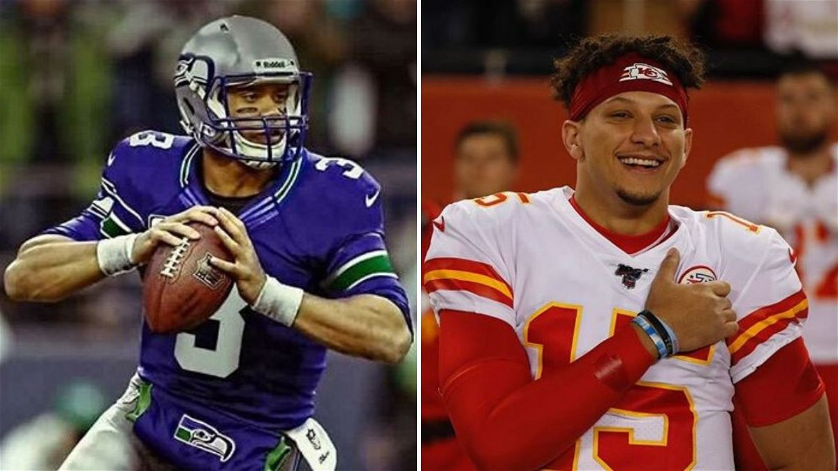 Is Russell Wilson Envious Of Patrick Mahomes? NFL Analyst Offers Striking Theory - Essentially Sports thumbnail